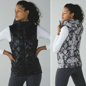 Lululemon Reversible The Fluffiest Down Vest
